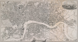 Payne's illustrated plan of London